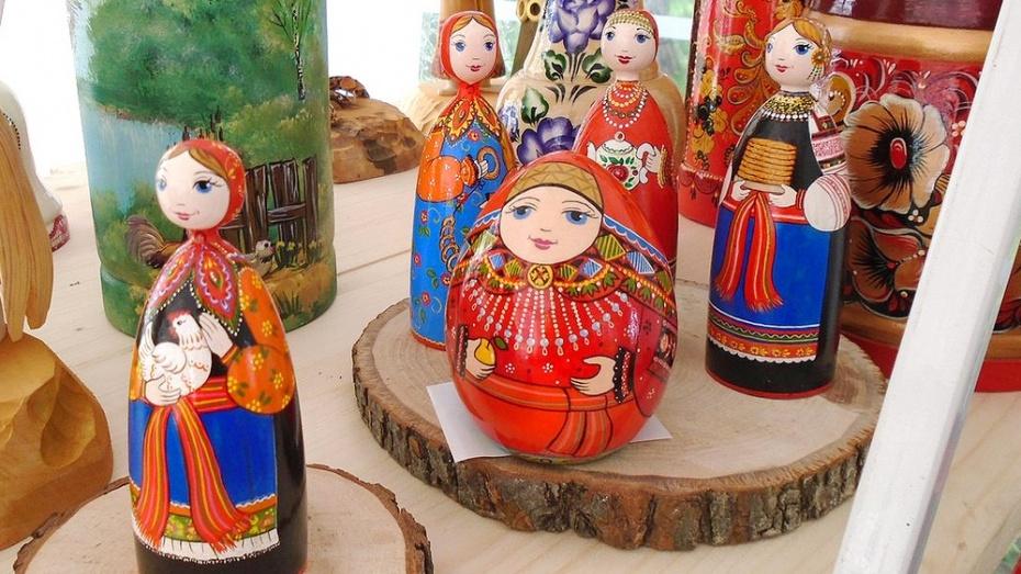 Семилукские мастерицы получили дипломы на фестивале народных промыслов