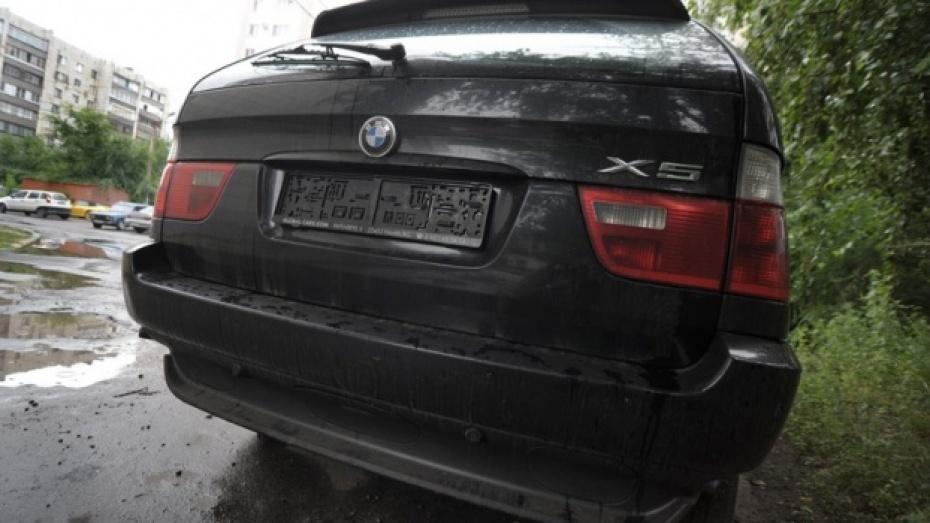В Воронеже задержаны похитители автомобильных номеров
