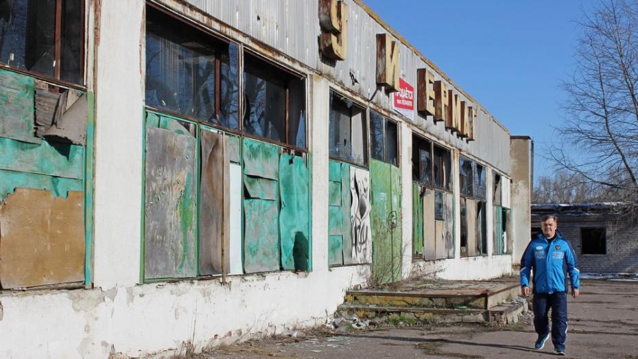 В таловском селе Новая Чигла заброшенное здание универмага переделают под спортзал