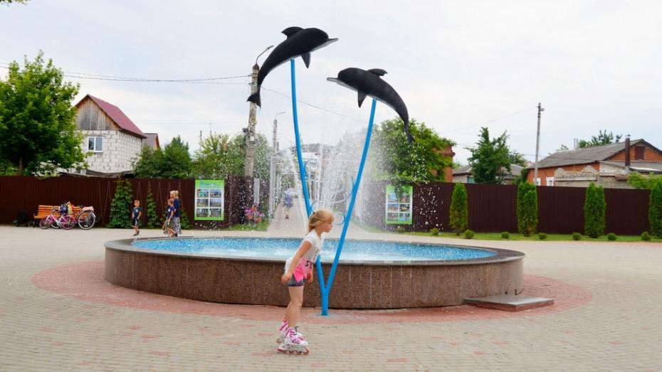 В Бутурлиновке в горпарке установили новый арт-объект