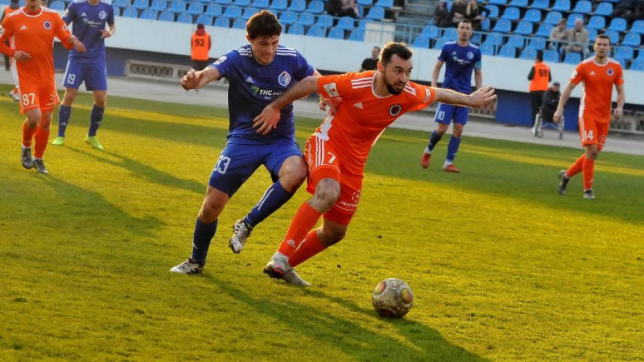 Астраханский «Волгарь» расстался с воронежским футболистом