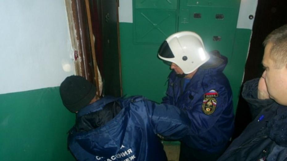 ВВоронеже квартиру сработавшей газовой плитой довелось вскрывать спасателям