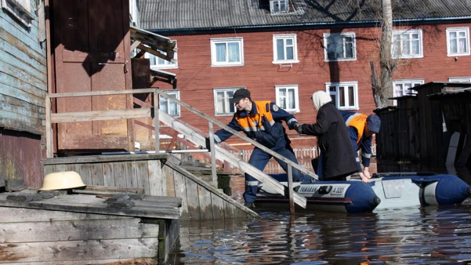 В Воронеже и области объявлен режим повышенной готовности для спасателей