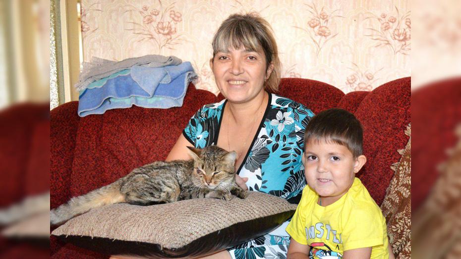 Жительница Лисок спасла котенка от издевательств 11-летних школьников