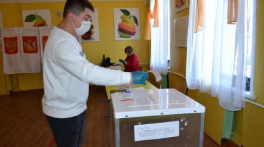 Лискинец впервые поучаствовал в выборах