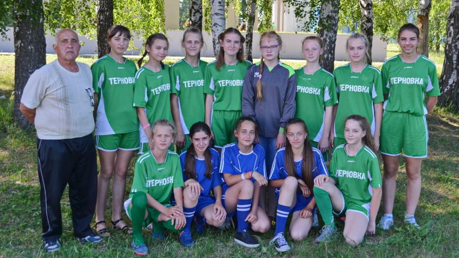 Терновские футболистки вышли в финал всероссийского турнира «Кожаный мяч»