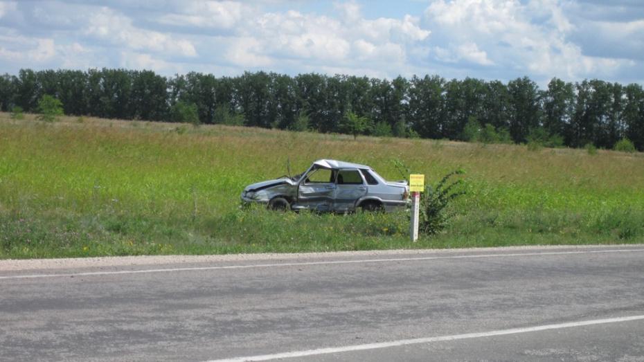 Под Воронежем в ДТП пострадал 61-летний пенсионер