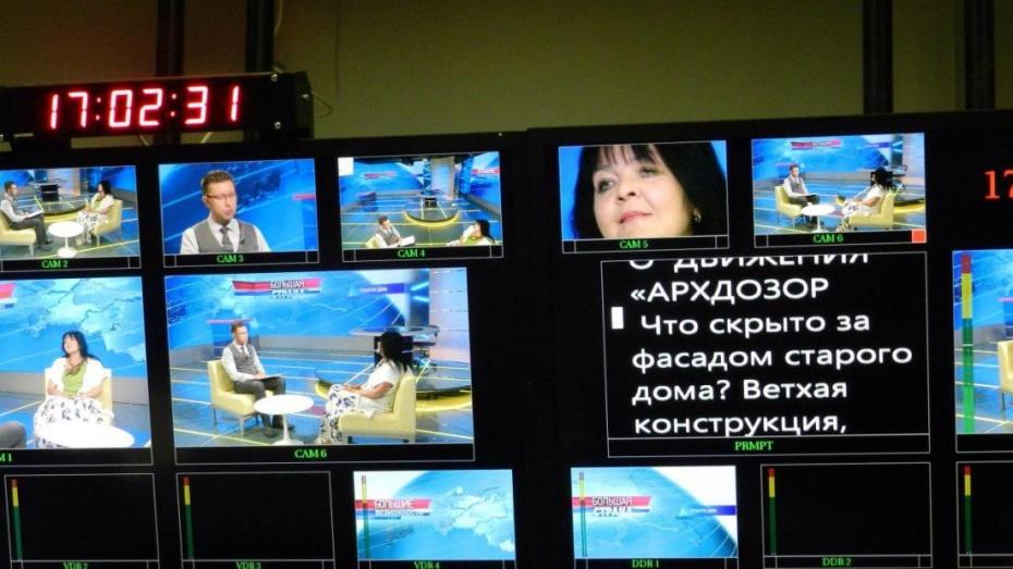 Экскурсовод рассказала в эфире ОТР о сносе старинных зданий в центре Воронежа