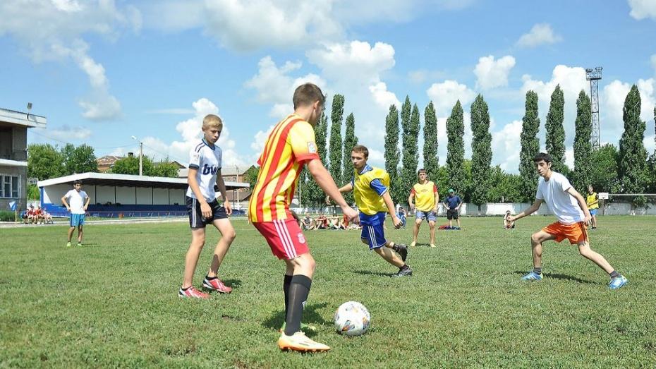 В Бутурлиновке разыграли кубок города по миди-футболу