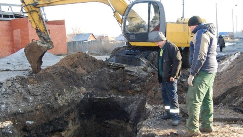 В Бутурлиновке без воды остались несколько тысяч человек