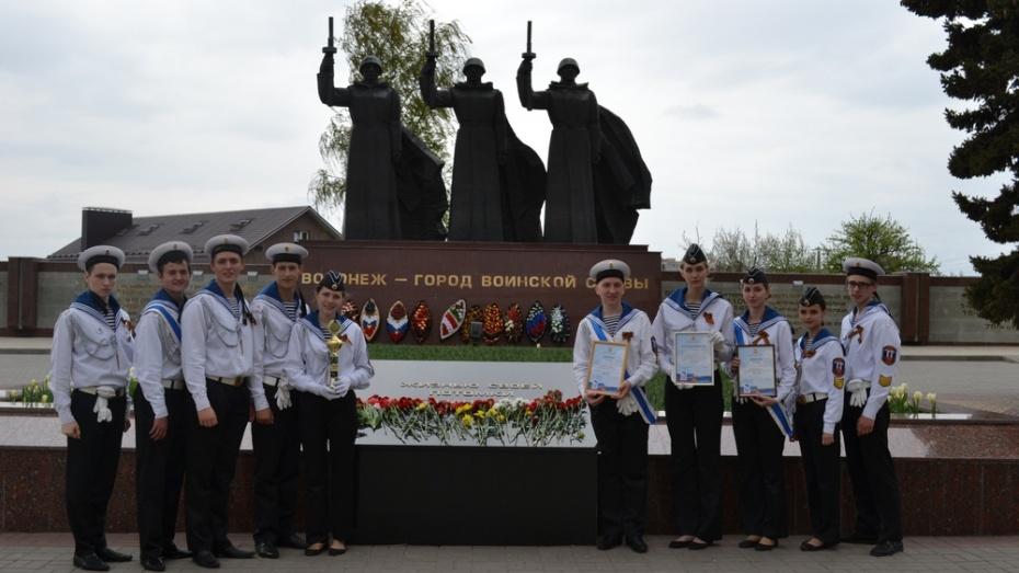 Павловские юнморы победили в финале областного конкурса-слета отрядов Пост № 1