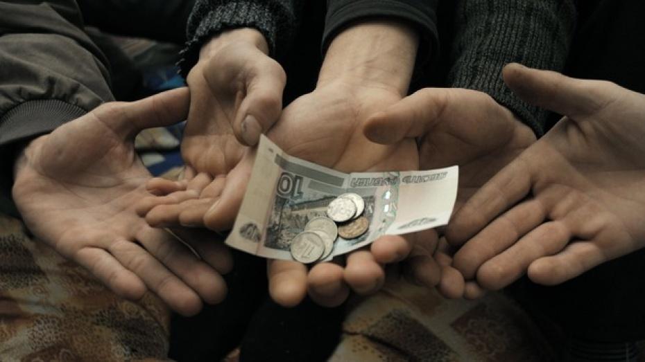 В Грибановском районе работники получали зарплату ниже прожиточного минимума