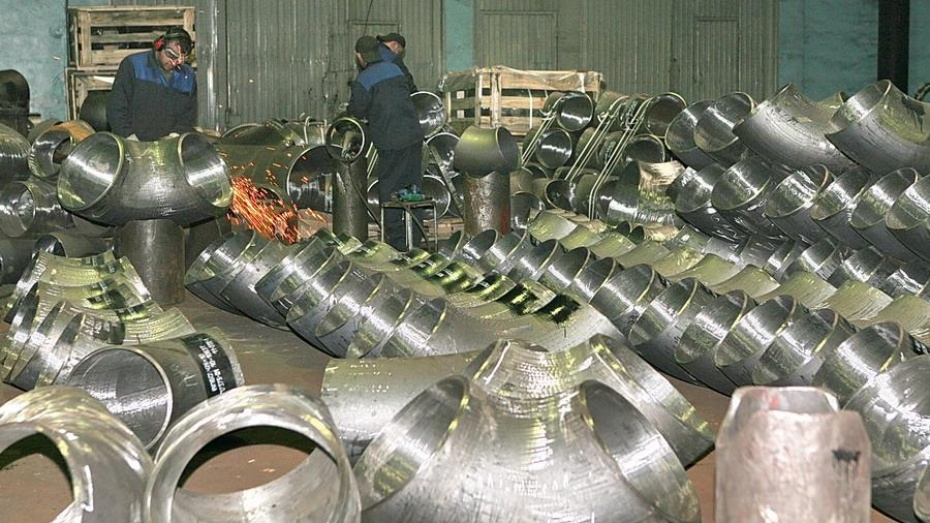 Главе МинпромторгаРФ показали новый завод вВоронежской области