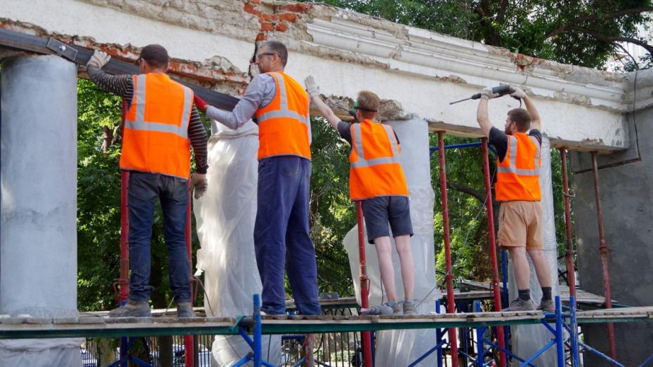Реконструкция воронежского парка «Орленок» завершится до 1 ноября