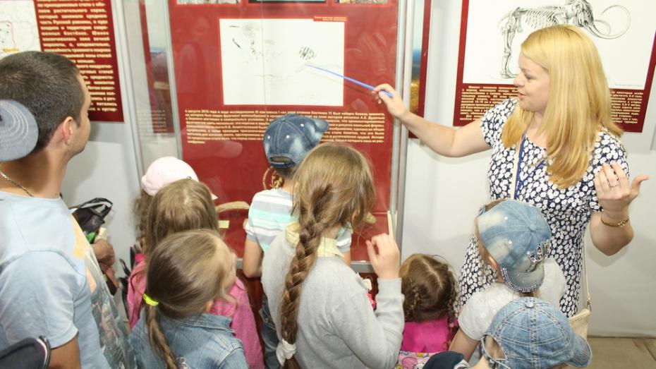 В Хохольском районе детей научат живописи каменного века