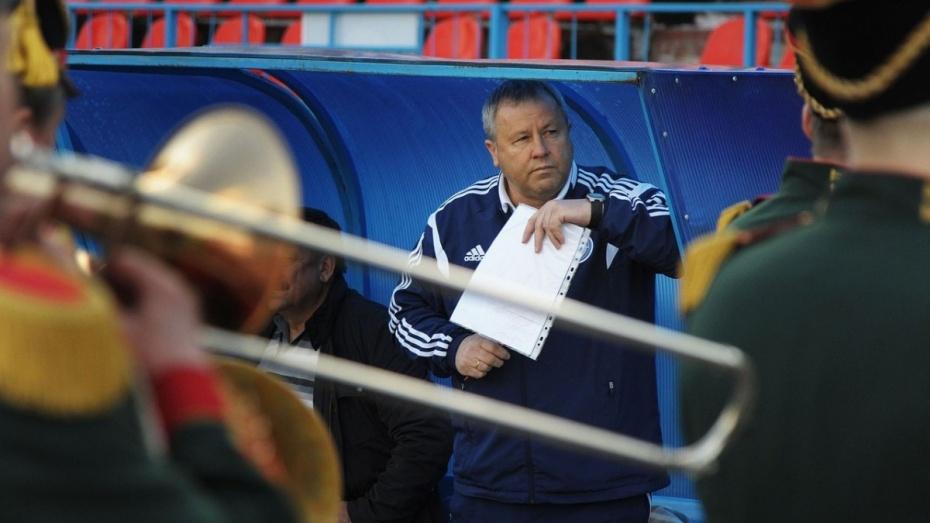Наставник воронежского «Факела» стал лучшим тренером мая по версии ПФЛ