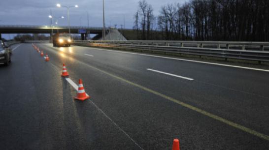 В Воронежской области под колесами легковушки погибла перебегавшая трассу женщина