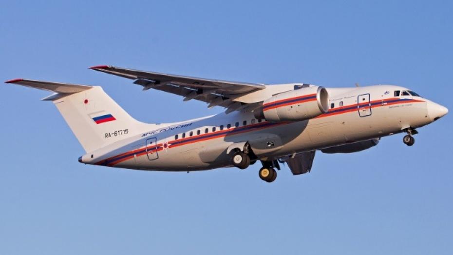 Воронежский самолет Ан-148 передан МЧС России