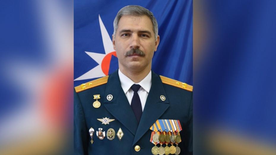 Главного воронежского спасателя повысили до генерал-майора
