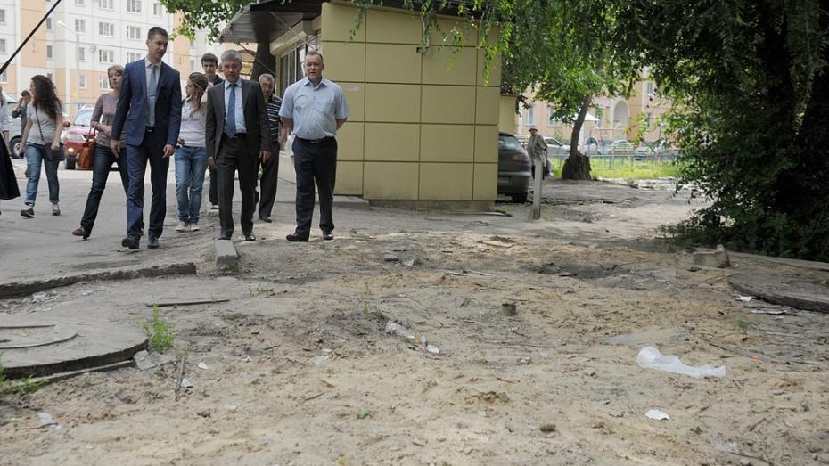 Мэрия Воронежа заставит владельцев снесенных киосков благоустроить территорию