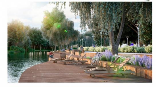 В Ольховатке благоустроят парк «Центральный»