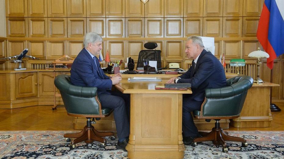 В воронежском правительстве обсудили новую систему проектного финансирования