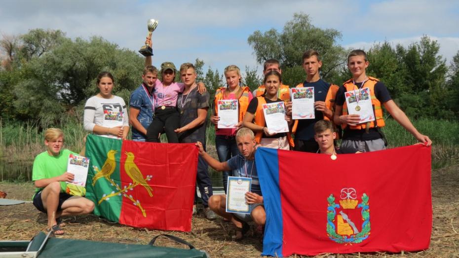 Таловские спортсмены выиграли 4 «золота» на соревнованиях по технике водного туризма