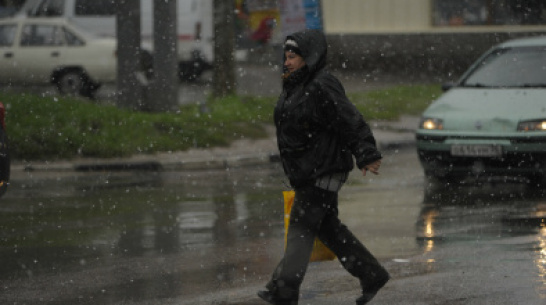 Госавтоинспекция предупредила автомобилистов и пешеходов о непогоде в Воронежской области