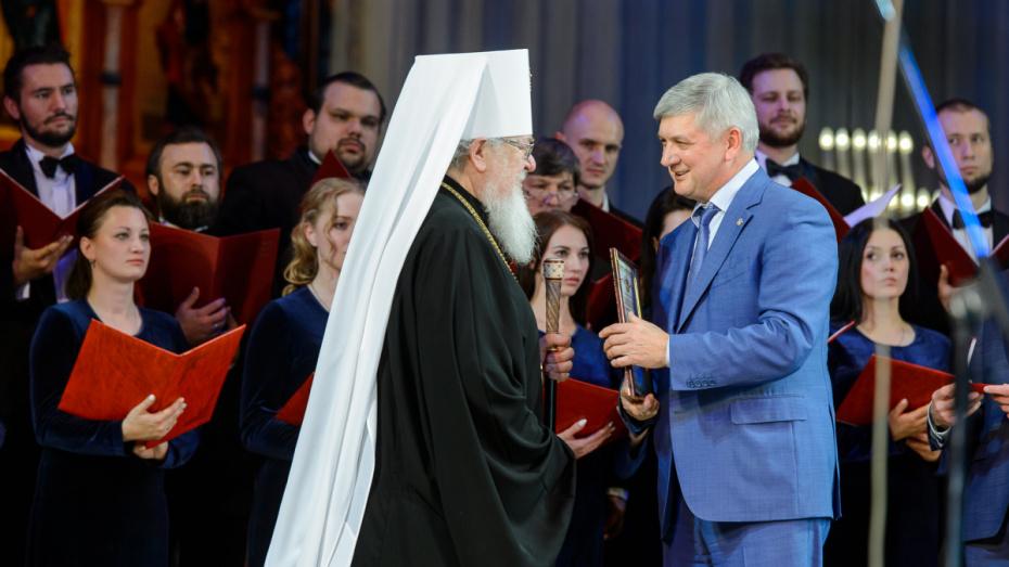 Губернатор поучаствовал в праздновании Собора Воронежских святых