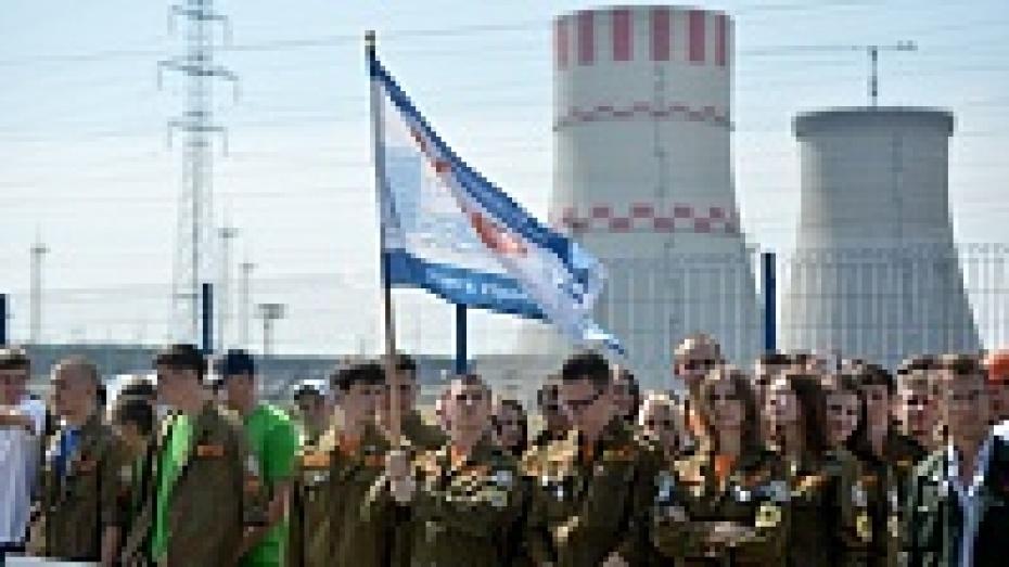 В Нововоронеже стартовала Всероссийская студенческая стройка «Мирный атом 2014»