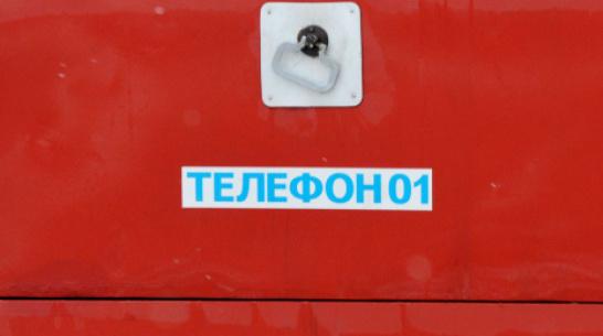В Воронежской области при пожаре погиб 26-летний парень