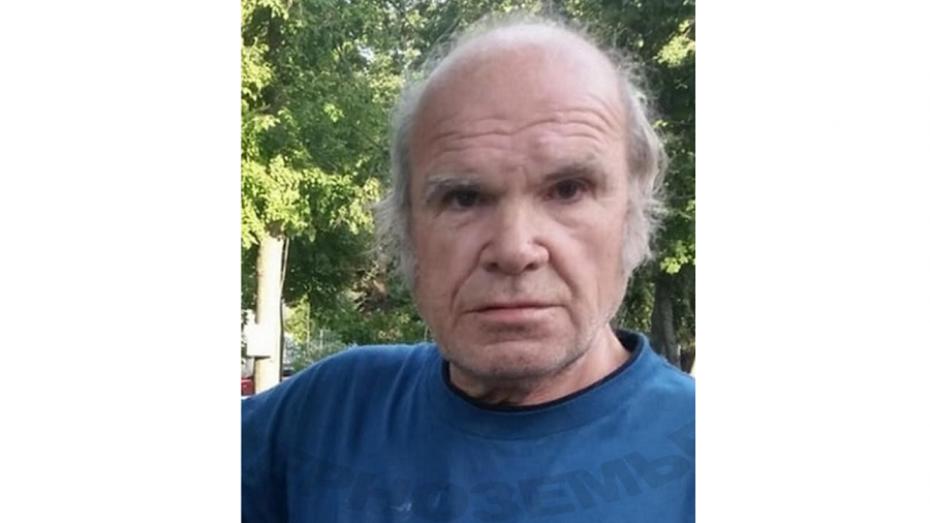 В Воронеже ищут пропавшего 70-летнего мужчину