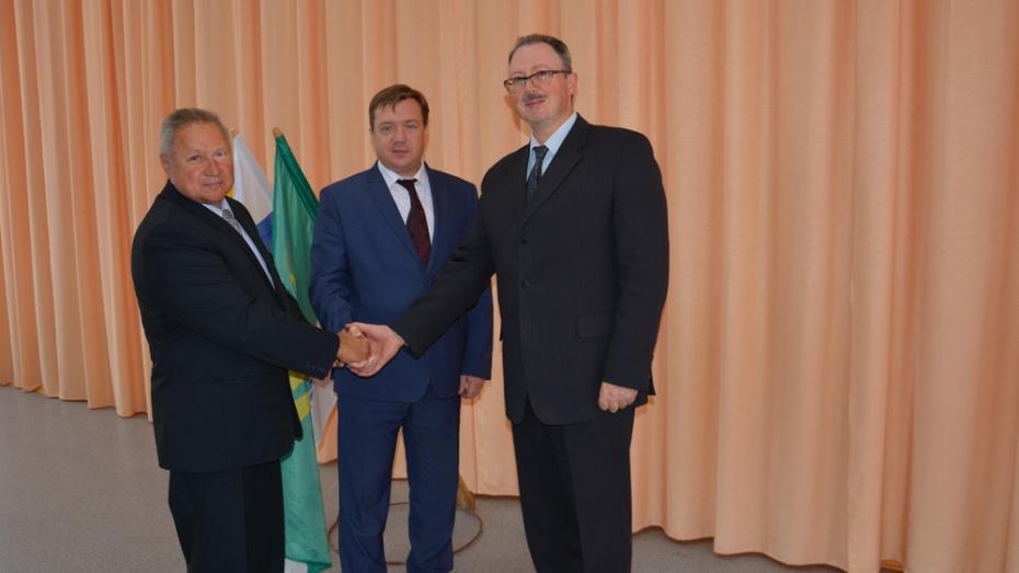 В Поворинском районе Воронежской области назначили главу администрации
