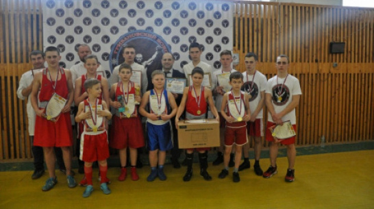 Грибановские боксеры выиграли 11 золотых медалей на межрегиональном турнире