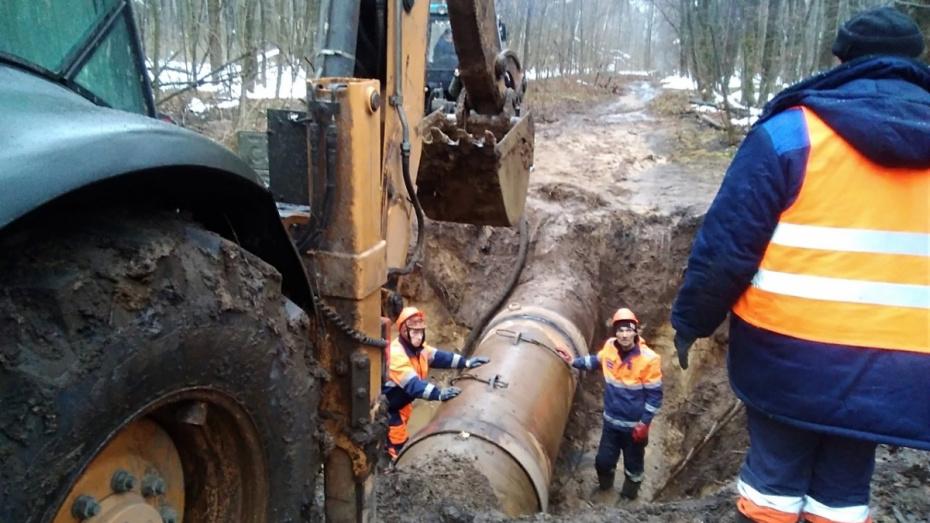 В Воронеже устранили аварию, частично оставившую без воды 2 района