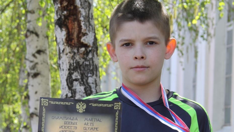 Бобровчанин завоевал «бронзу» на Олимпиаде боевых искусств