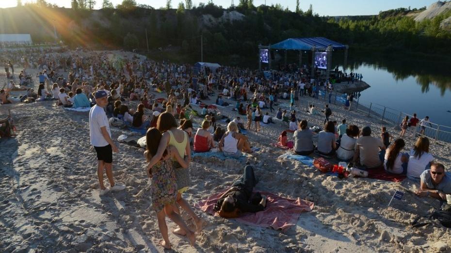 В меловом карьере под Воронежем выступят группы из Израиля и Ирландии