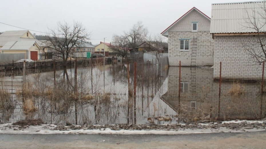 В Новоусманском районе подтоплено почти 400 домовладений