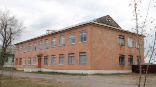 В Петропавловке на здании начальной школы отремонтируют крышу