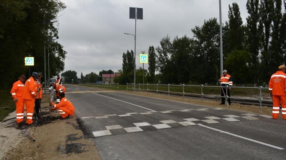 В Воронежской области 138 пешеходных переходов обновят за 96,6 млн рублей