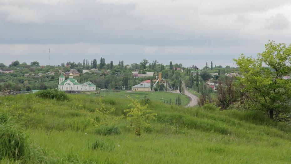 В хохольском селе Гремячье сделают парк отдыха со смотровой площадкой на реку Дон