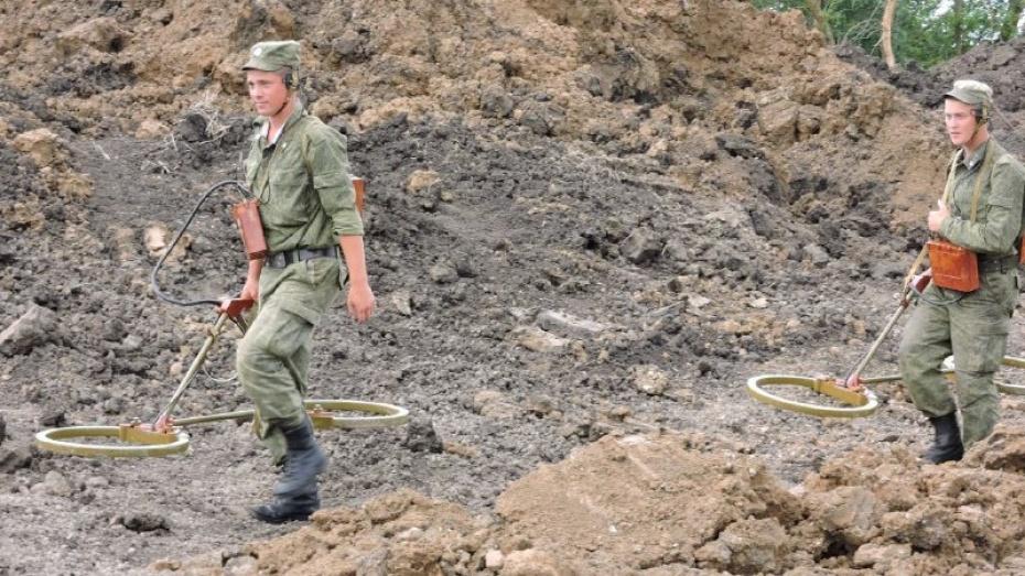 Военные нашли под Кантемировкой очередную авиабомбу