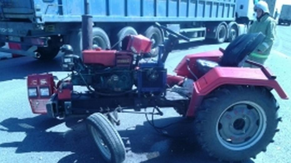 В ДТП в Павловском районе погиб 76-летний водитель мини-трактора