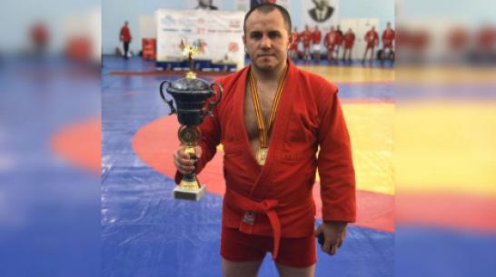 Новоусманский самбист стал призером чемпионата России