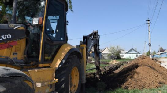 В рамонской деревне Ивницы впервые за 50 лет заменят водопроводные сети