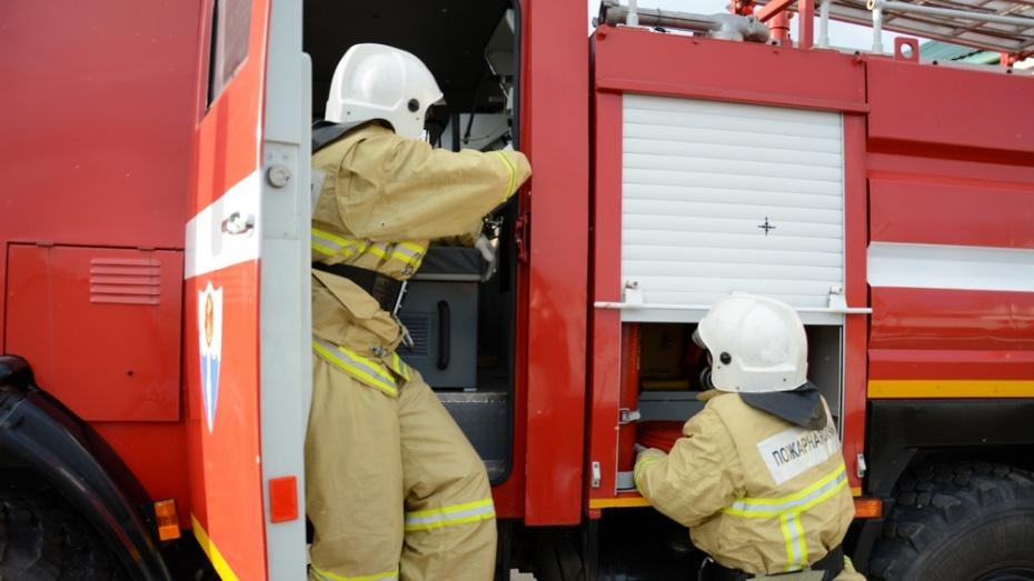 В Острогожске при пожаре в частном доме погиб мужчина