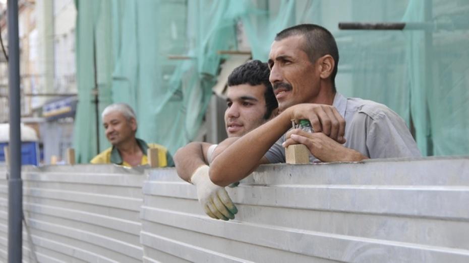 Право на временное проживание в Воронежской области получат 2,5 тыс мигрантов