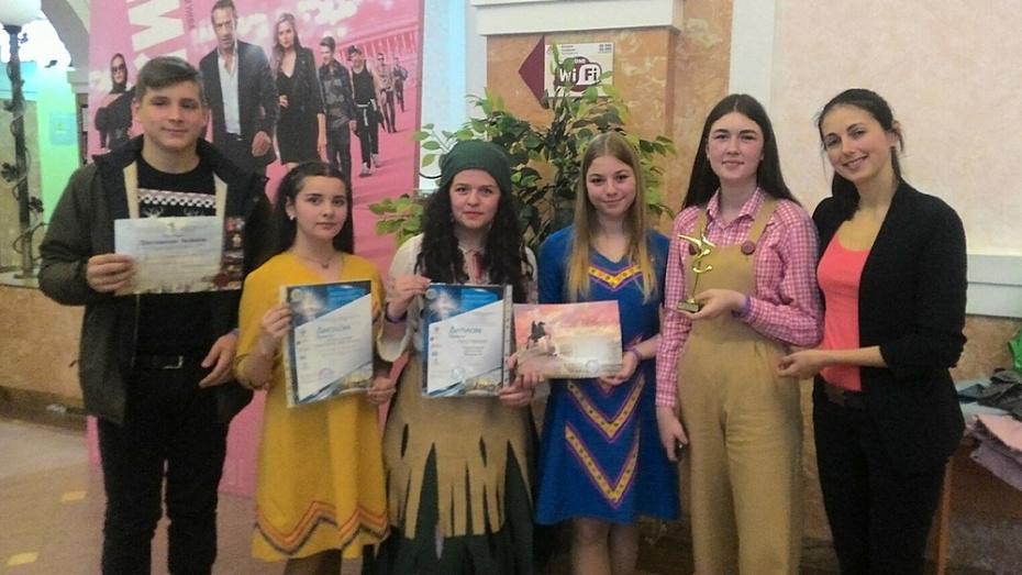 Ольховатские артисты стали лауреатами всероссийского конкурса «Роза ветров – 2019»