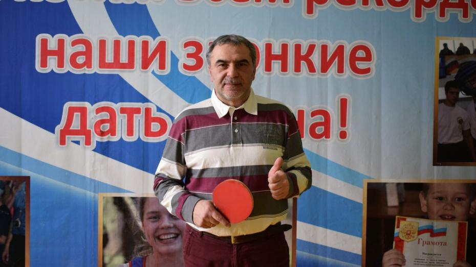 Борисоглебский тренер победил на межрегиональном турнире по теннису