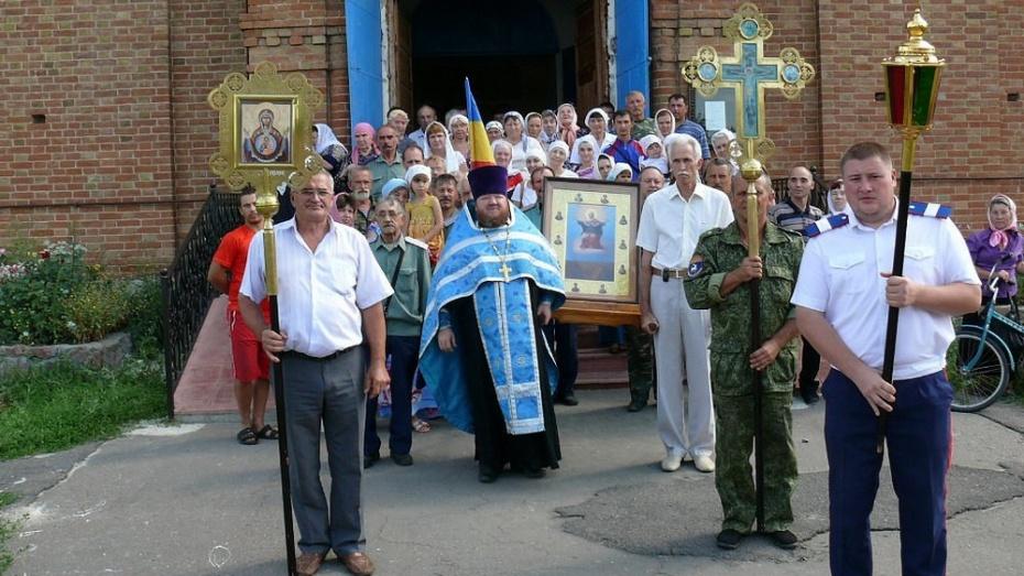 По Верхнемамонскому району пройдет Ильинский казачий крестный ход